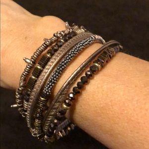 Stella and Dot Jarne Coil Bracelet